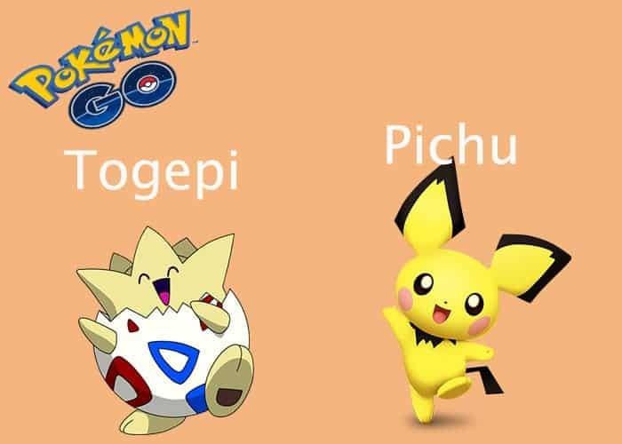 Pokémon Go: los Pokémon bebés